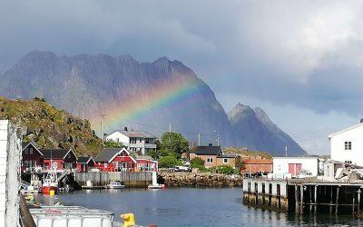 rainbow in skrova