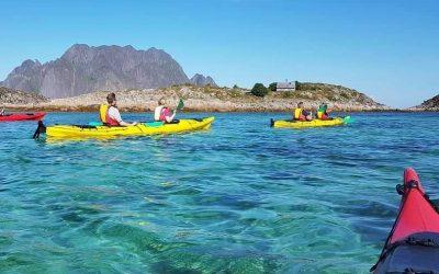 kayaking skrova